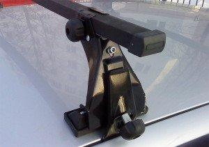 Фото крепления багажника на крышу ВАЗ, ufa-bagazhniki.ru