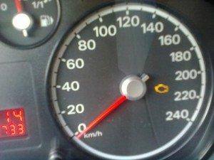 Фото ошибки на панели управления Форд Фокус 2, drive2.ru