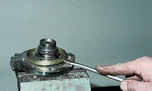Фото ремонта ступицы переднего колеса, vaz-autos.ru