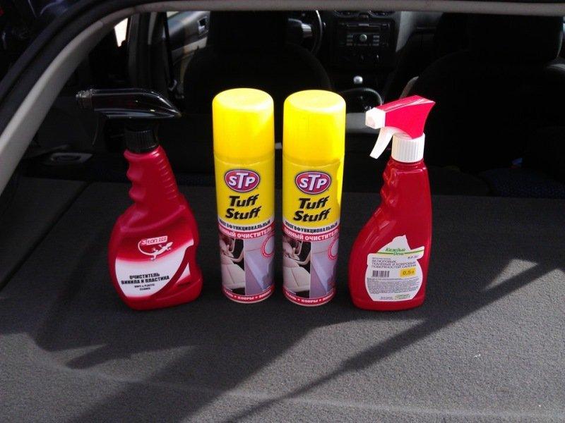 средство для чистки салона автомобиля своими руками видео