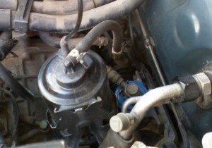 Фото второго топливного фильтра на Тойота, toyota-engine.ru