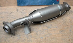 На фото - катализатор выхлопной трубы ВАЗ 21074, bububu.su