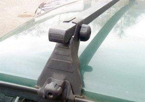 Фото крепления опор багажника на крышу ВАЗ, ufa-bagazhniki.ru
