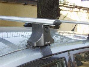 На фото - установка багажника на плоскую крышу ВАЗ, probagaznik.ru