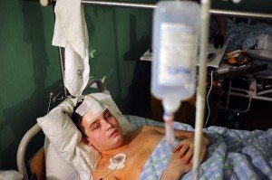 На фото - пострадавший в ДТП, bnkomi.ru