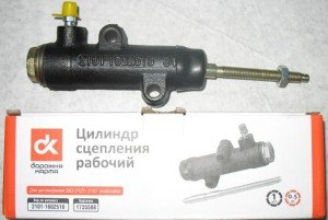 На фото - рабочий цилиндр сцепления ВАЗ, d-karta.ru