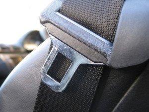На фото - непристегнутый ремень безопасности, mygazeta.com
