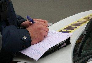 Фото штрафа за неиспользование ремня безопасности, autocentre.ua