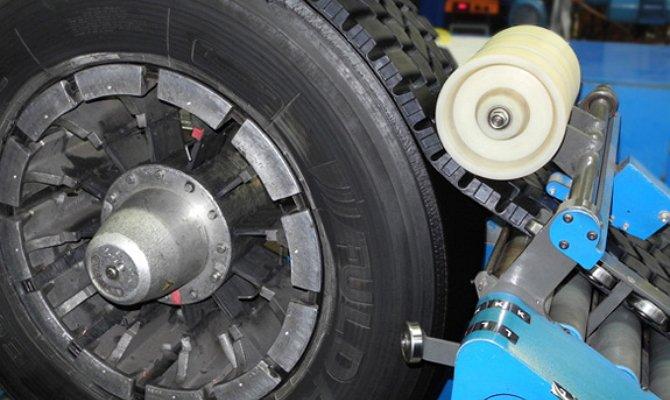Фото наварки протектора на грузовые шины