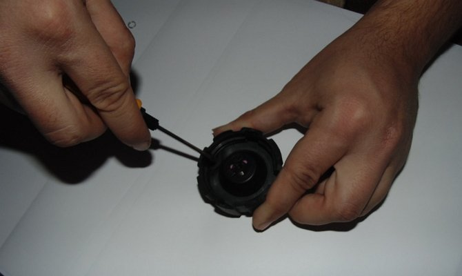 Впускной клапан крышки