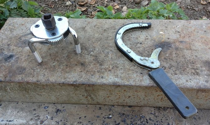 Инструмент для откручивания масляного фильтра