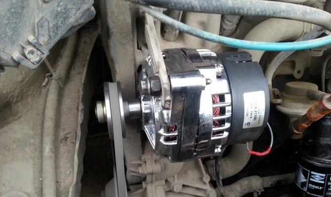 Расположение генератора в автомобиле