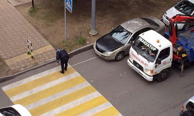 Штраф за парковку автомобиля ближе 5 м до разметки ПП