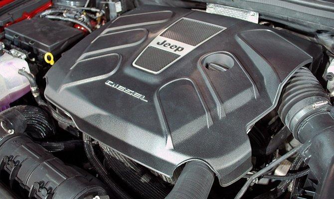 Мотор «Dodge» с блоком цилиндра высокоуглеродистого чугуна