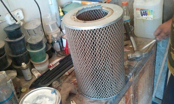 Новый фильтр для очистки двигателя