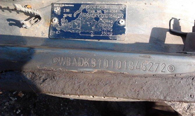 Выдавленный шифр на листовом материале