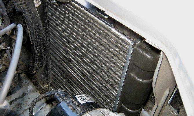 Радиатор в системе охлаждения мотора