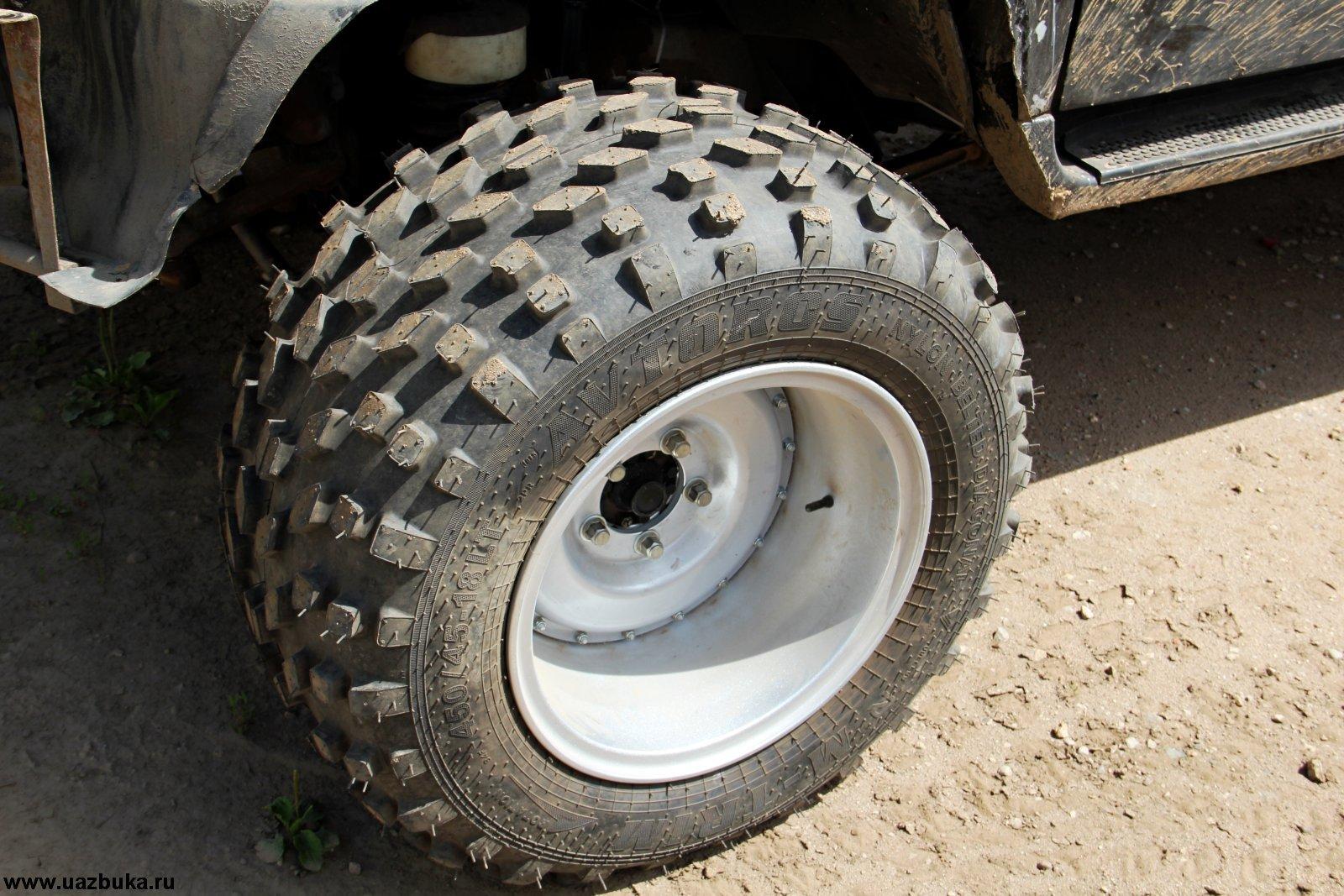 Вездеходы на колесах низкого давления своими руками