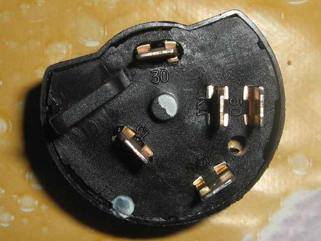 Группа контактов для замка зажигания ford