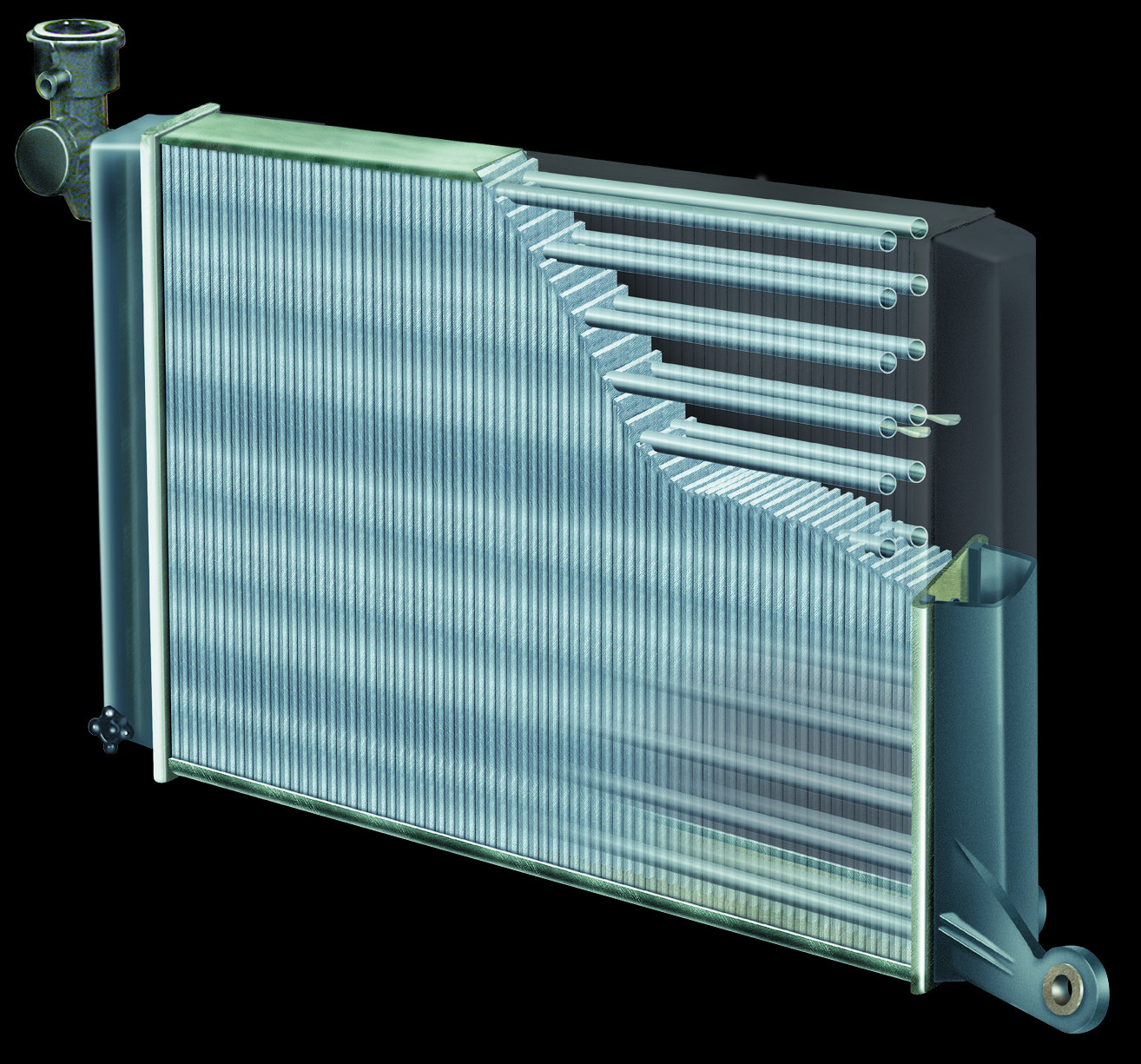 Как почистить радиатор кондиционера автомобиля снаружи?