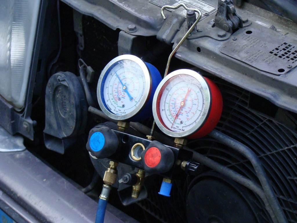 Как проверить герметичность кондиционера в машине своими руками приора 59