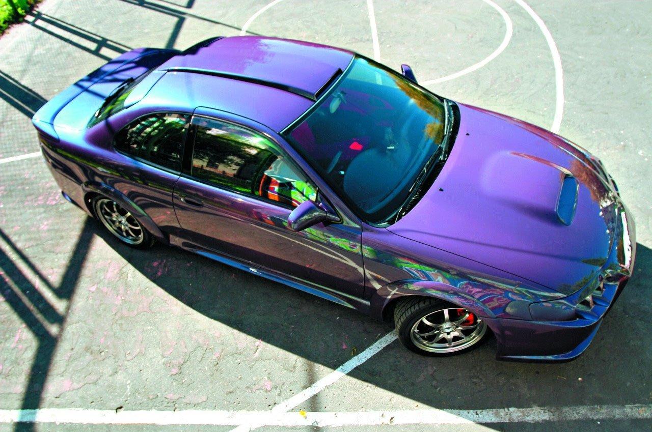 Покраска авто глянцевой краской