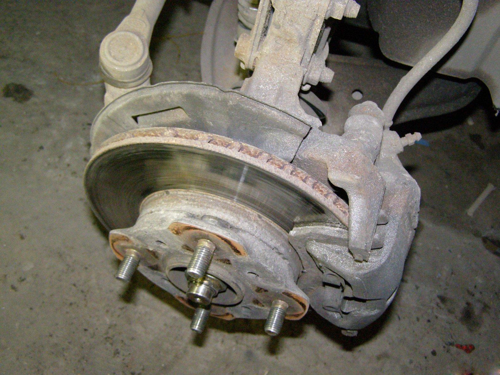 остаточная толщина тормозного диска volvo