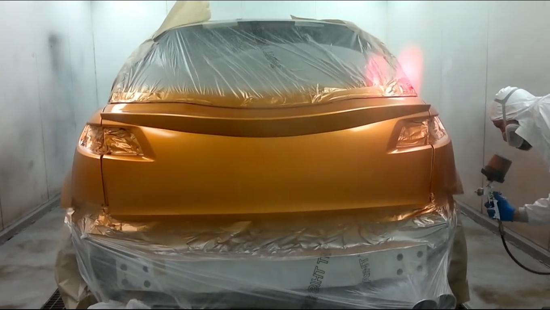 Технология покраски автомобиля своими руками фото 782