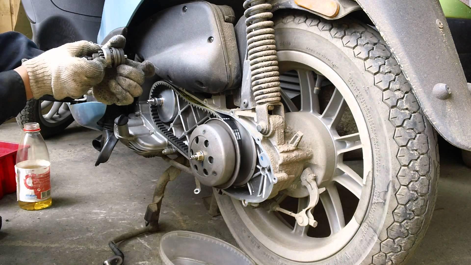 Как сделан вариатор скутера 569