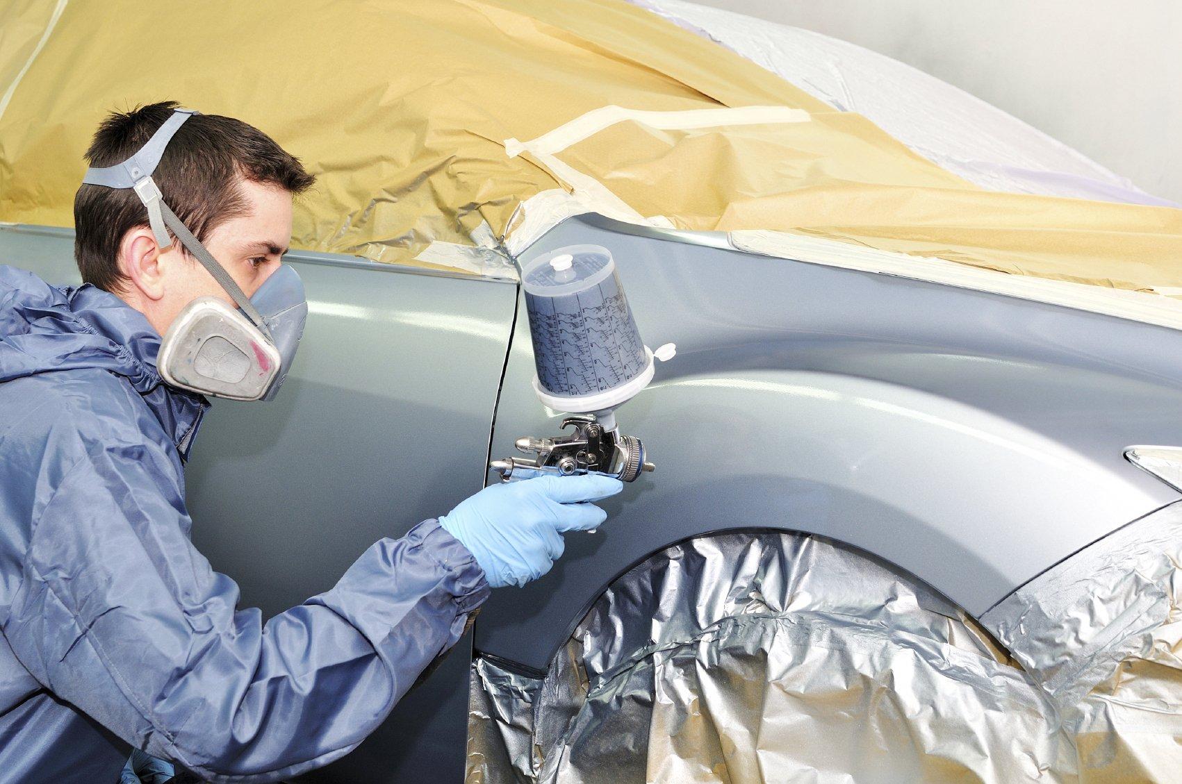 Технология покраски автомобиля своими руками фото 290