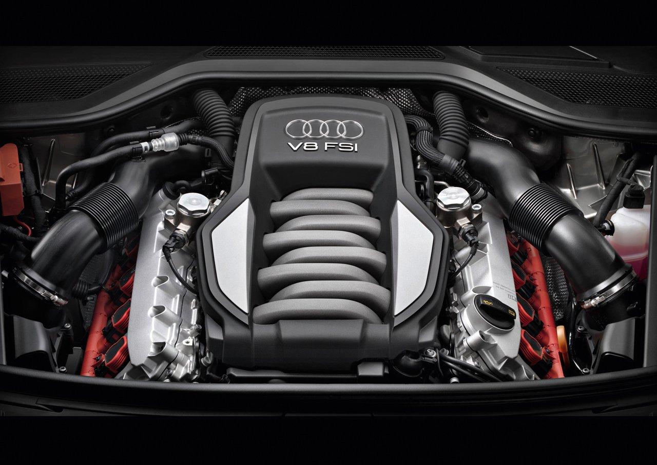Audi A8/Motorraum