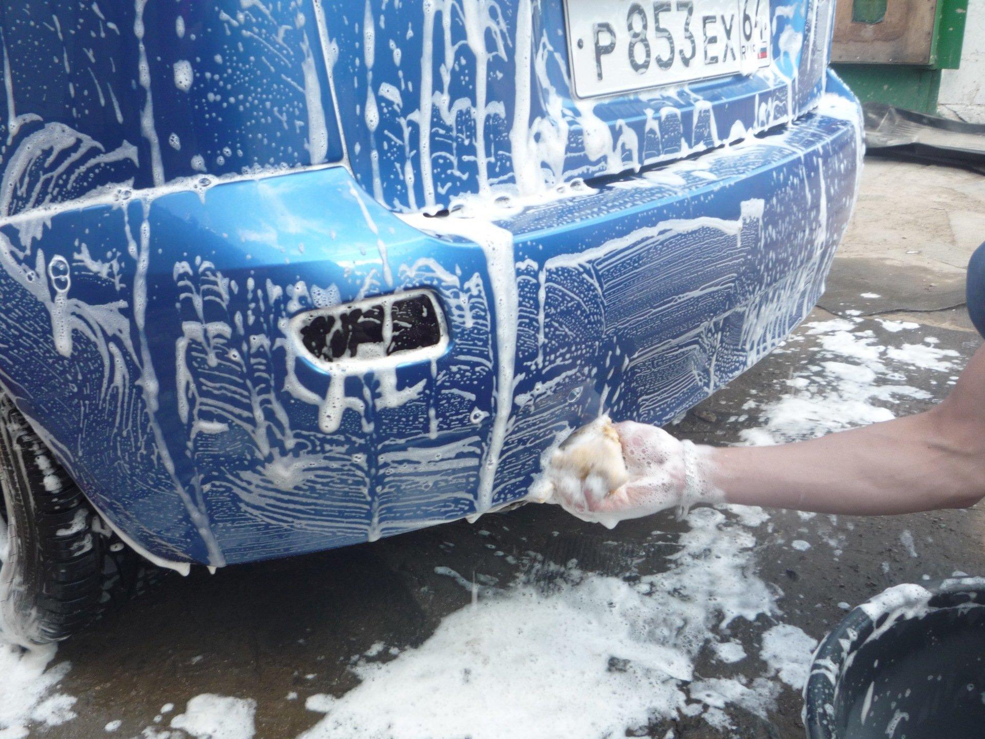 Где можно и нельзя помыть машину самому