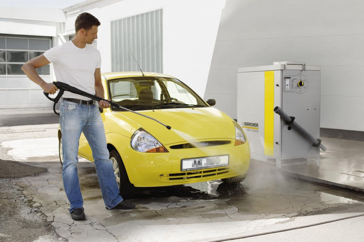 Помыть автомобиль своими руками