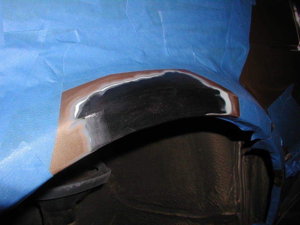 Защита кузова автомобиля перед покраской