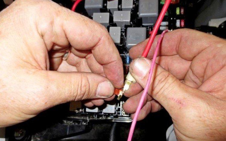 Подключение проводки пневмоподвески