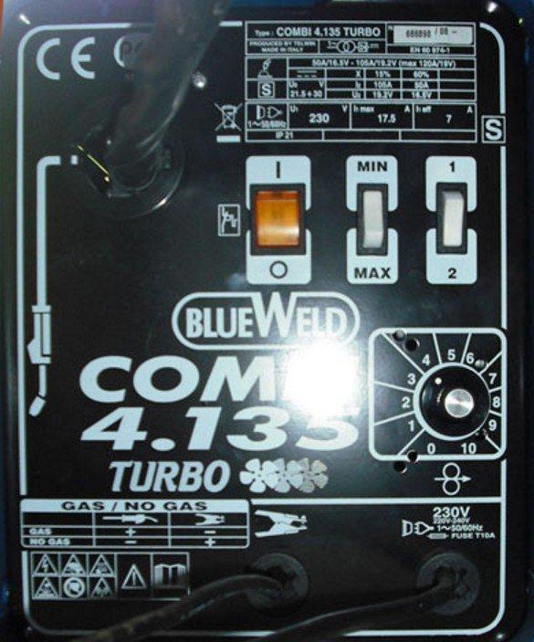 Передняя панель сварочного аппарата BlueWeld