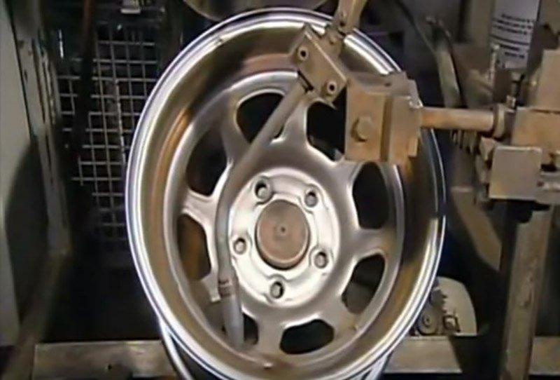 Сварка диска из 2 частей
