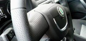 Кожаный руль