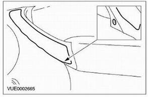 Снятие крышки дверной ручки