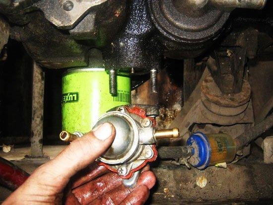 Замена механического бензонасоса ВАЗ 2110