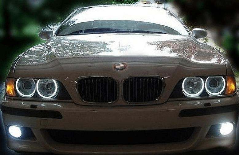 ксеноновые ангельские глазки BMW