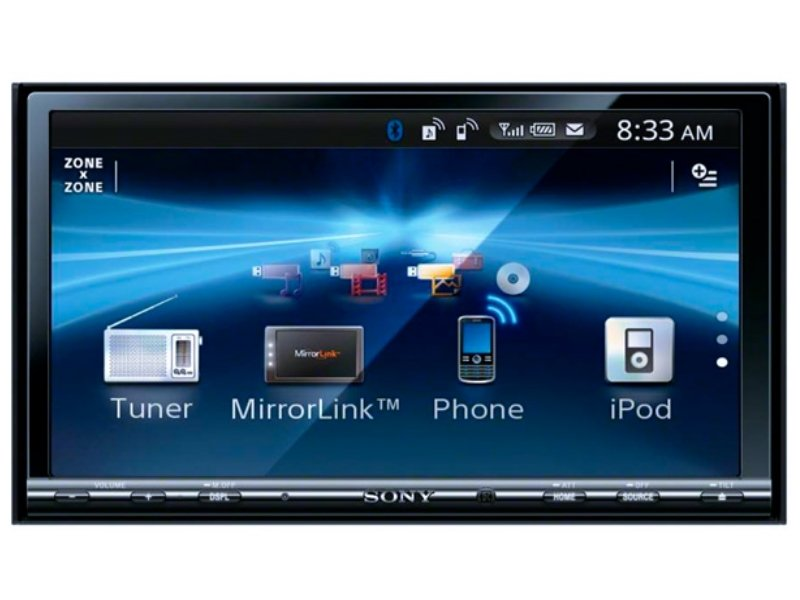 Магнитола 2 DIN Sony XAV-741