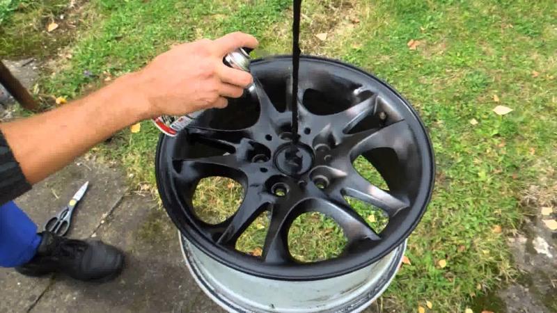 Как правильно покрасить литые диски