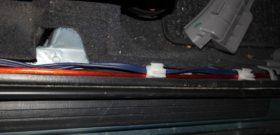 Прокладка проводки в салоне