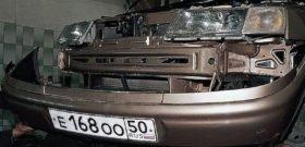 Разборка передней части авто