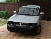 Замена переднего бампера ВАЗ 2110 на бампер приоры