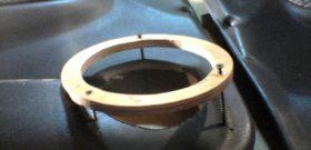 Кольцо из фанеры для будущего подиума