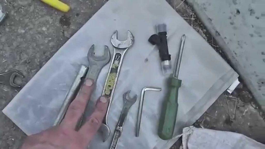 Минимальный комплект инструмента
