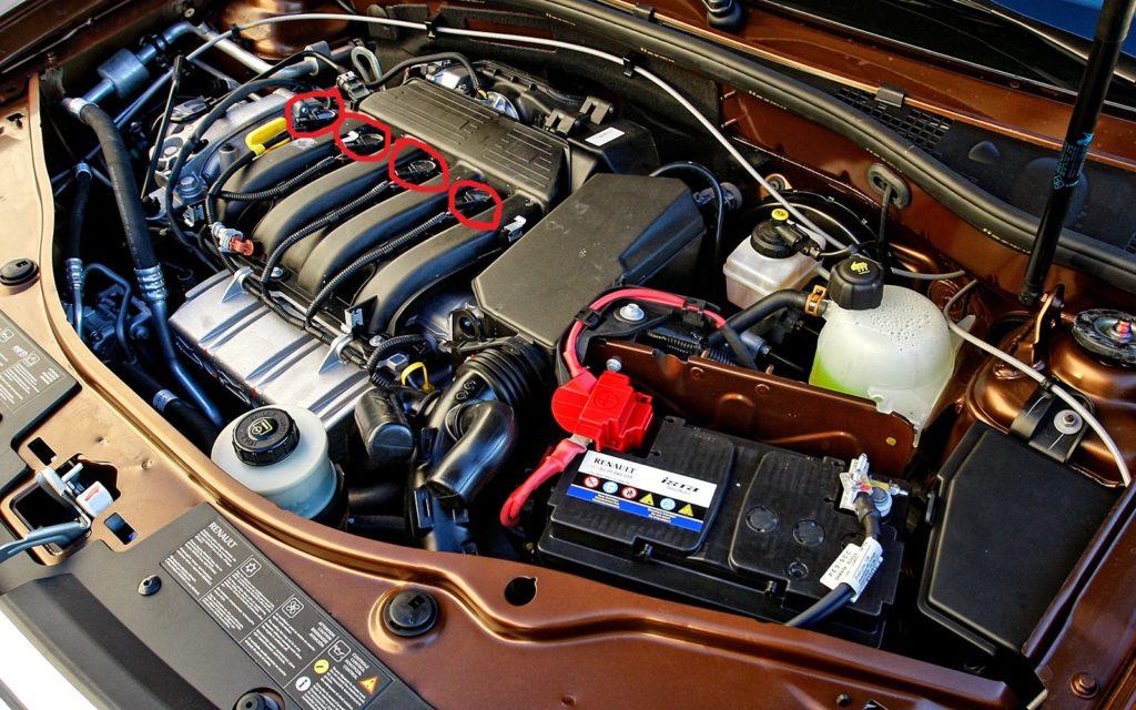 Подключение к мотору
