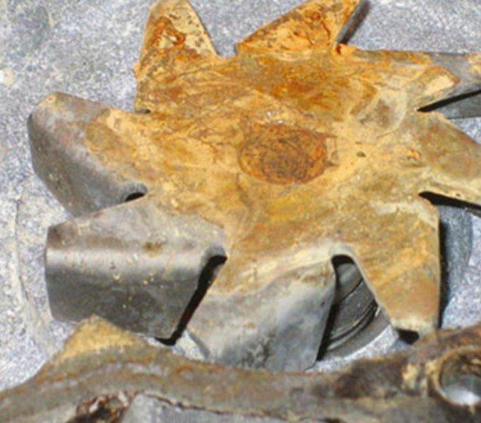 Коррозия крыльчатки помпы